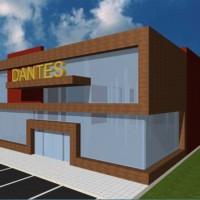 Изграждане на мебелен магазин Дантес