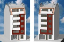 Построяване на жилищна сграда, Пловдив