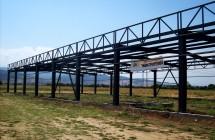 Изграждане на автосервиз от метална конструкция