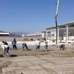 Наливане на бетон - Кричим Фрукт