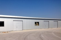 Склад за климатични инсталации от метални конструкции