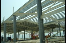 Склад за пакетирани стоки от метална конструкция, Варна